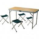 Стол складной и 4 стула Camping World Convert Table mini