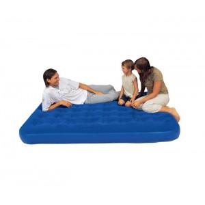 Кровать надувная Bestway Flocked Air Bed King двухместная со встроенным насосом