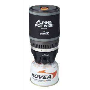 Горелка газовая + кастрюля Kovea Alpine Pot Wide 1.02 кВт